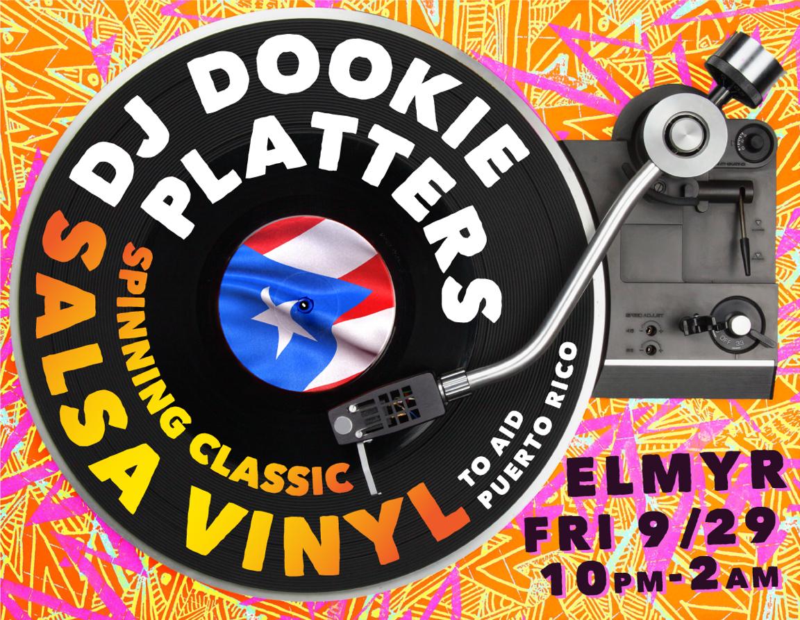 Portfolio Piece - Puerto Rico Aid for Dookie Platters