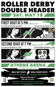 2019 CCRG Bout Poster