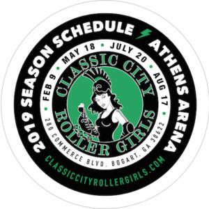 2019 CCRG Schedule Coaster